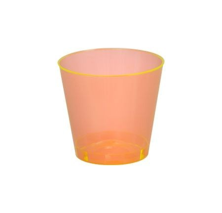 Fineline Settings 401 Savvi Serve Plastic Neon Shot Glass 1 oz. - 2500 pcs