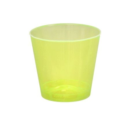 Fineline Settings 402 Savvi Serve Plastic Neon Shot Glass 2 oz. - 2500 pcs