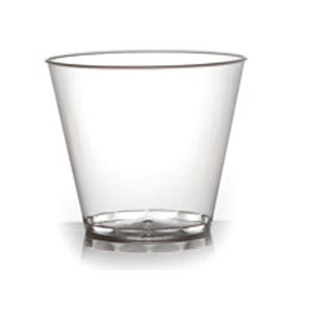 Fineline Settings 405 Savvi Serve Clear Plastic Tumbler 5 oz. - 500 pcs