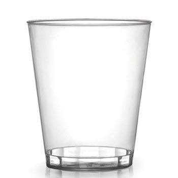 Fineline Settings 407 Savvi Serve Clear Plastic Tumbler 7 oz. - 500 pcs