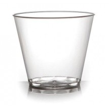 Fineline Settings 409 Savvi Serve Plastic Old-Fashioned Tumbler  9 oz. - 500 pcs
