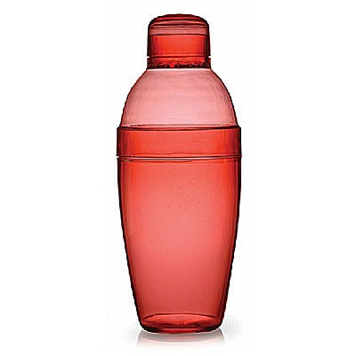 Fineline Settings 4102 Quenchers Plastic Cocktail Shaker 10 oz. - 24 pcs