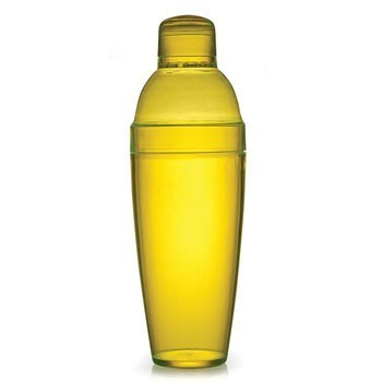 Fineline Settings 4103 Quenchers Plastic Cocktail Shaker 14 oz. - 2 doz