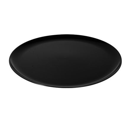 """Fineline Settings 8601 Platter Pleasers Classic Round Plastic Serving Tray 16"""" - 25 pcs"""