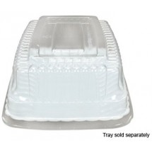 -Fineline-Settings-9257-L--5--x-7--Flairware-Snack-Tray-Dome-Lid----4-doz