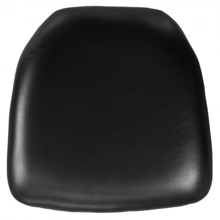 Flash Furniture  BH-BK-HARD-VYL-GG Chiavari Chair Cushion, Hard Black Vinyl