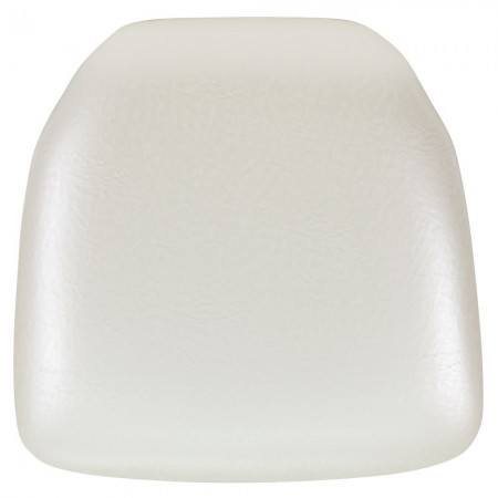 Flash Furniture  BH-IVORY-HARD-VYL-GG Chiavari Chair Cushion, Hard Ivory Vinyl
