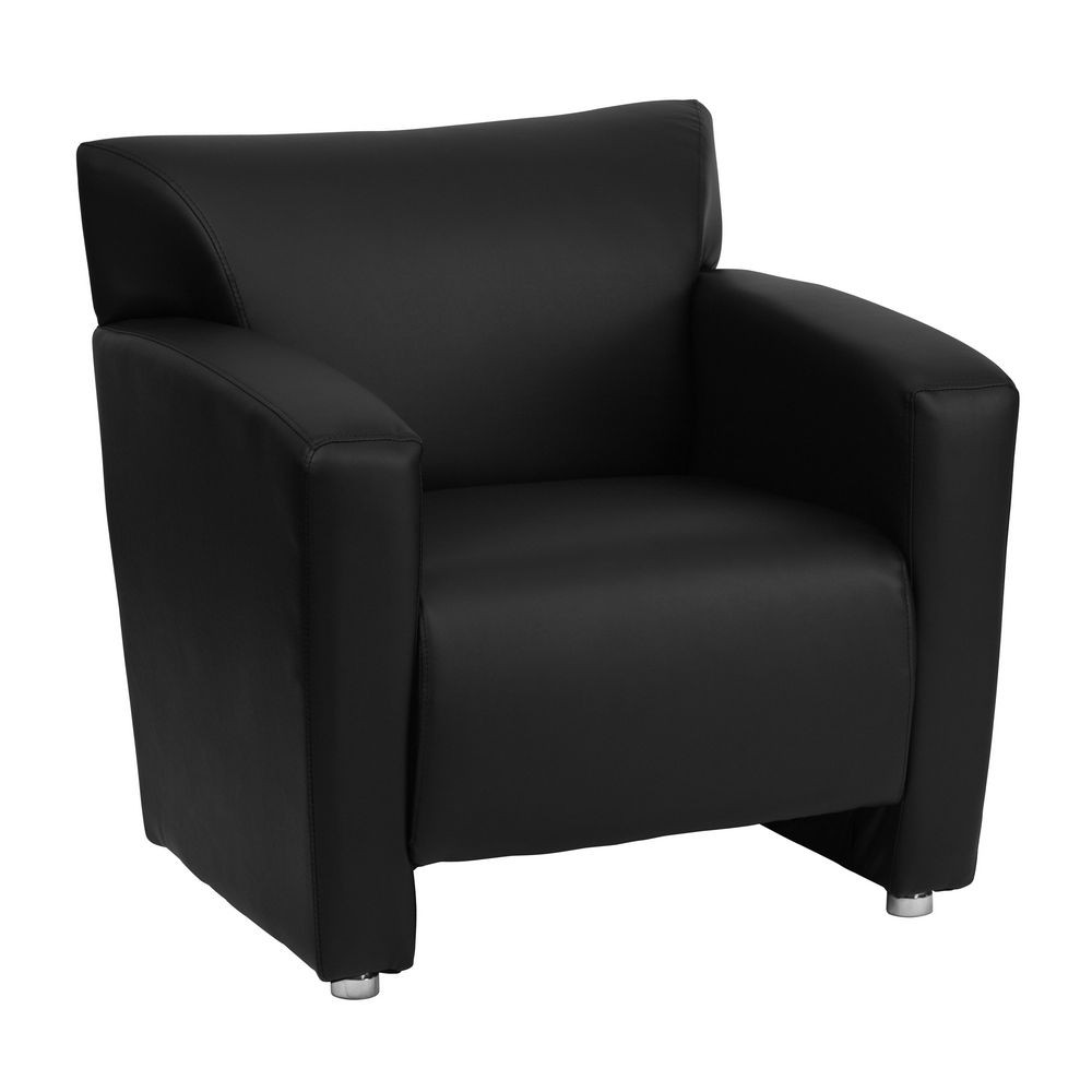 Flash Furniture 222-1-BK-GG HERCULES Majesty Series Black Leather Chair