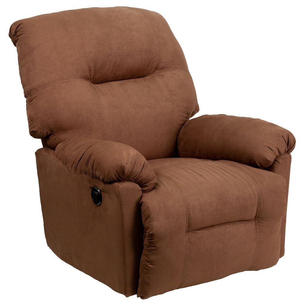Flash Furniture AM-CP9350-2550-GG Contemporary Calcutta Chocolate Microfiber Power Chaise Recliner