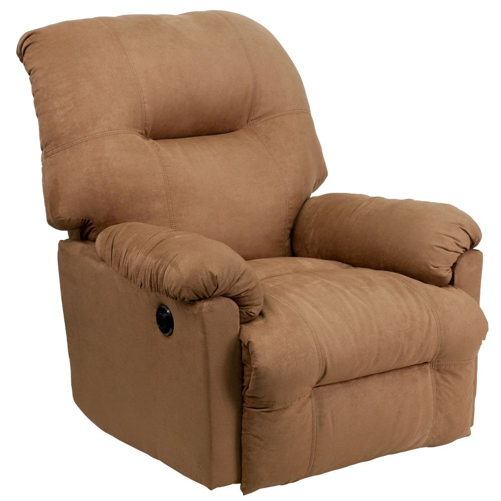 Flash Furniture AM-CP9350-2600-GG Contemporary Calcutta Camel Microfiber Power Chaise Recliner