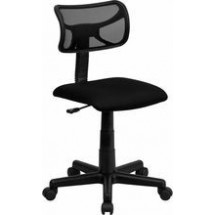 Flash Furniture BT-6138-1-BK-GG Low-Back Black Mesh Task Chair