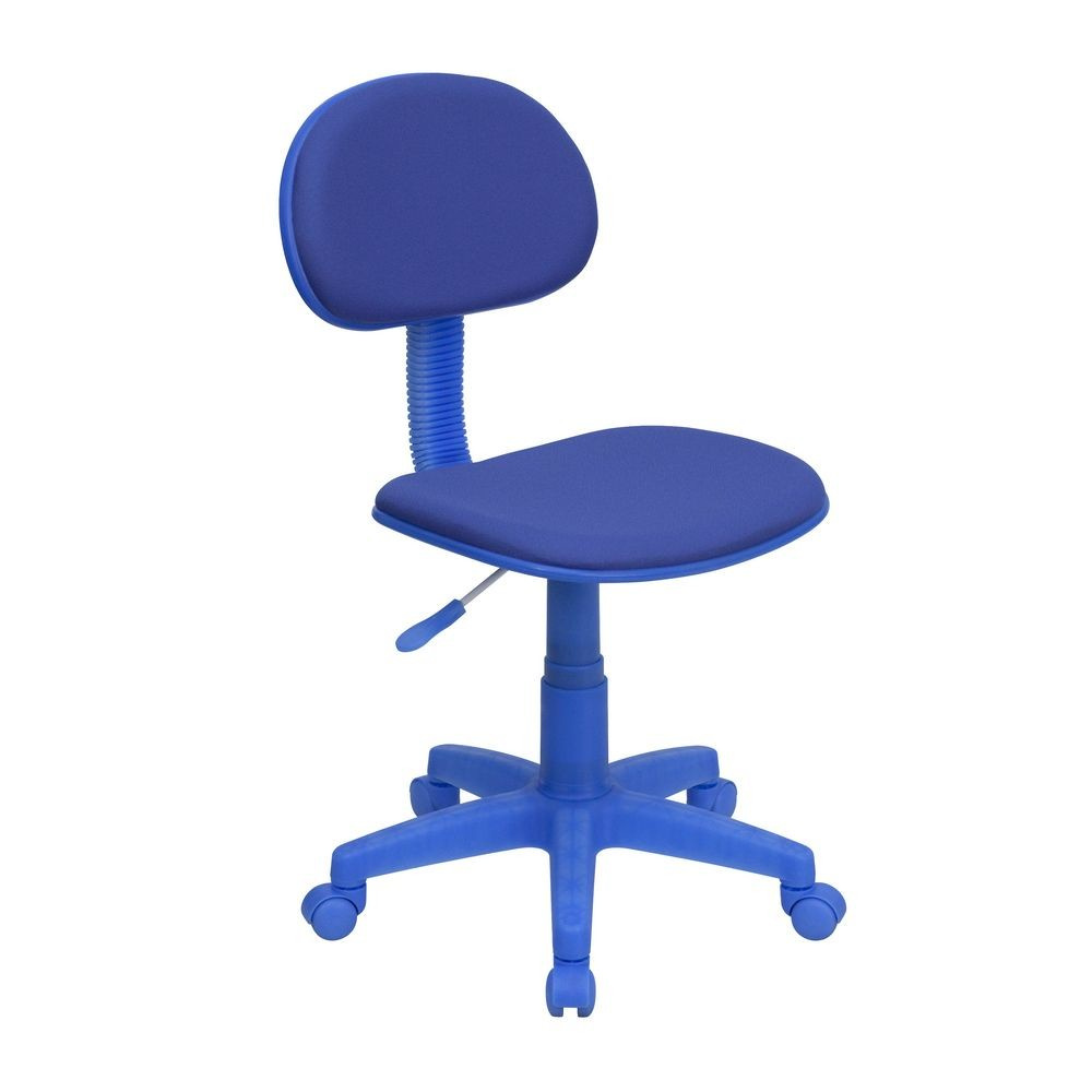 Flash Furniture BT-698-BLUE-GG Blue Fabric Ergonomic Task Chair
