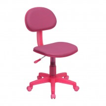 Flash Furniture BT-698-PINK-GG Pink Fabric Ergonomic Task Chair