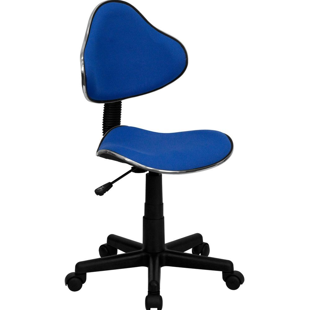 Flash Furniture BT-699-BLUE-GG Blue Fabric Ergonomic Task Chair