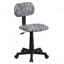 Flash-Furniture-BT-Z-BK-GG-Black-and-White-Zebra-Print-Computer-Chair