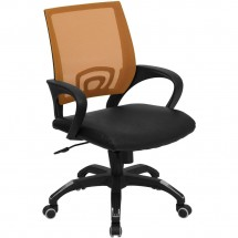 Flash-Furniture-CP-B176A01-ORANGE-GG-Mid-Back-Orange-Mesh-Computer-Chair-with-Black-Leather-Seat