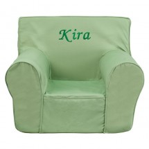 Flash Furniture DG-CH-KID-SOLID-GRN-GG Solid Green Small Kids Chair