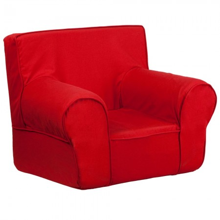 Flash Furniture DG-CH-KID-SOLID-RED-GG Solid Red Small Kids Chair