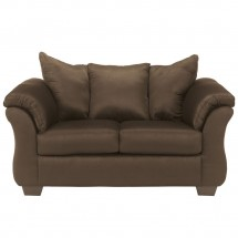 Flash Furniture FSD-1109LS-CAF-GG Signature Design by Ashley Darcy Loveseat in Cafe Fabric