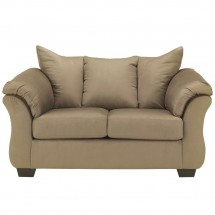 Flash Furniture FSD-1109LS-MOC-GG Signature Design by Ashley Darcy Loveseat in Mocha Fabric