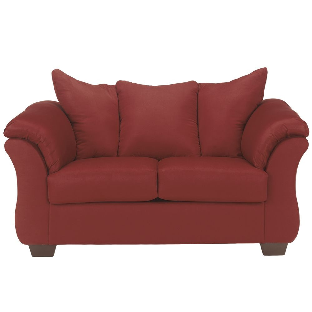 Flash Furniture FSD-1109LS-RED-GG Signature Design by Ashley Darcy Loveseat in Salsa Fabric