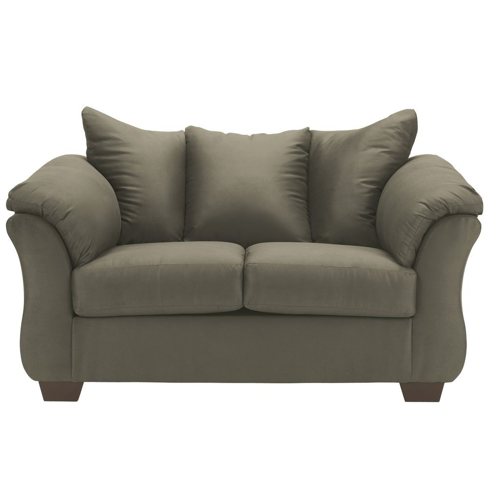 Flash Furniture FSD-1109LS-SAG-GG Signature Design by Ashley Darcy Loveseat in Sage Fabric