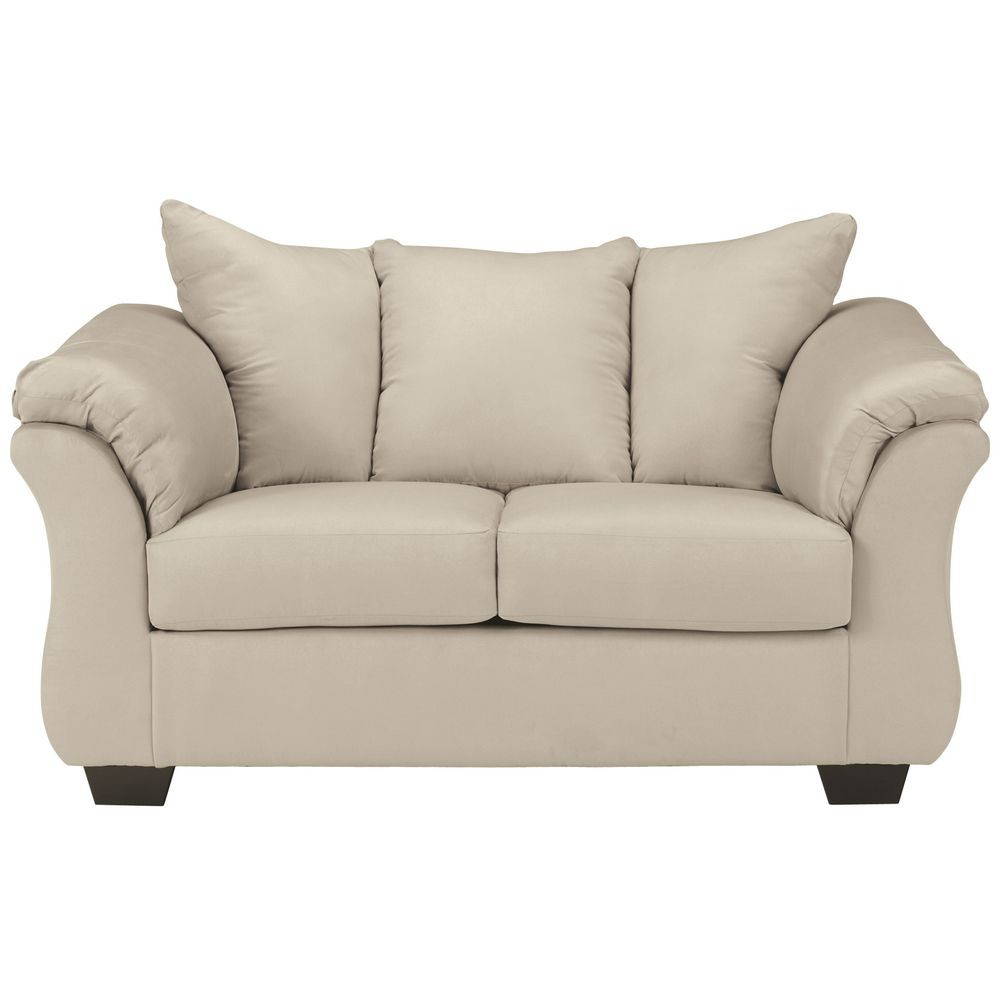 Flash Furniture FSD-1109LS-STO-GG Signature Design by Ashley Darcy Loveseat in Stone Fabric