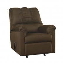 Flash Furniture FSD-1109REC-CAF-GG Signature Design by Ashley Darcy Rocker Recliner in Cafe Fabric