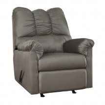Flash Furniture FSD-1109REC-COB-GG Signature Design by Ashley Darcy Rocker Recliner in Cobblestone Fabric