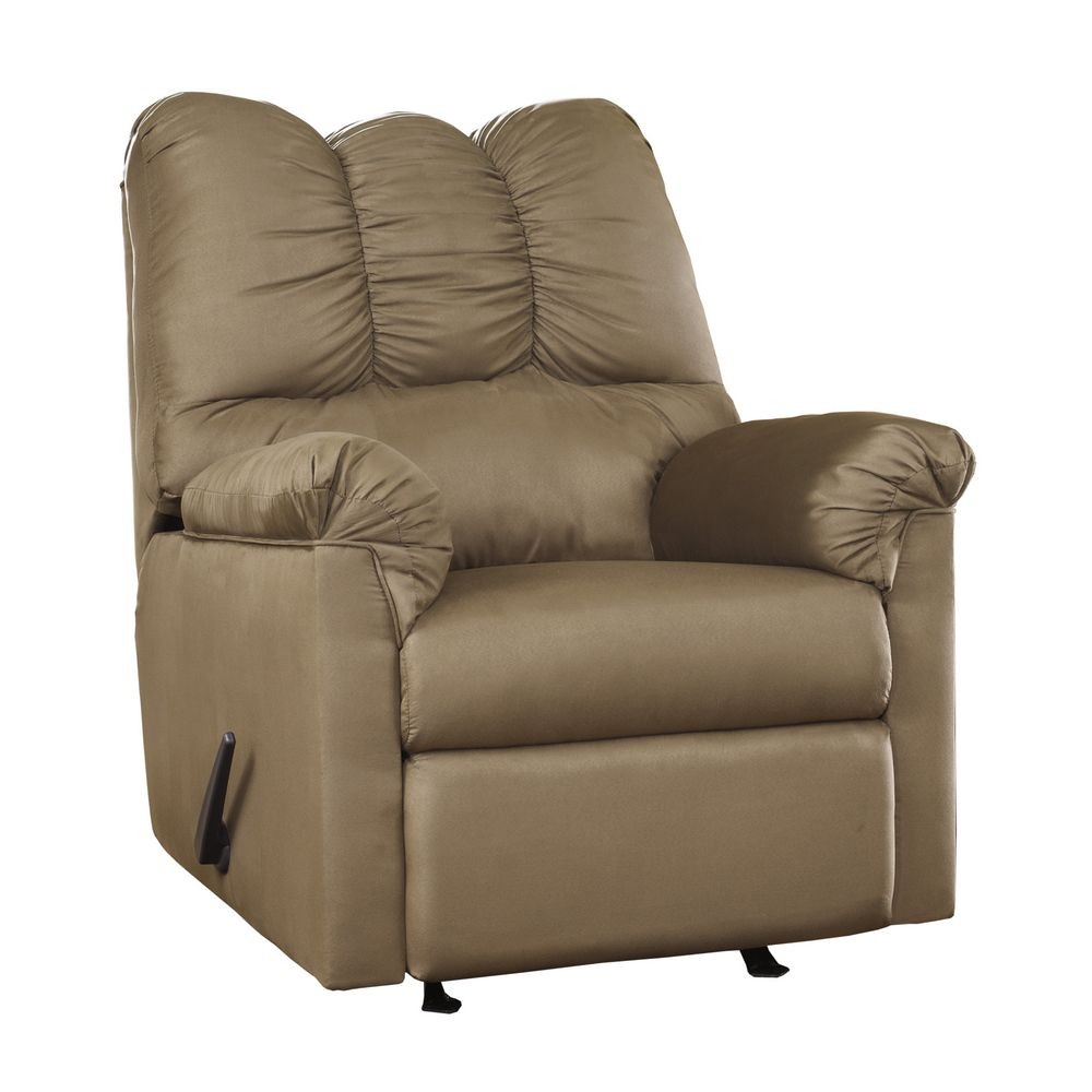 Flash Furniture FSD-1109REC-MOC-GG Signature Design by Ashley Darcy Rocker Recliner in Mocha Fabric