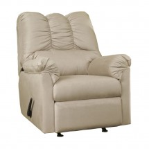 Flash Furniture FSD-1109REC-STO-GG Signature Design by Ashley Darcy Rocker Recliner in Stone Fabric