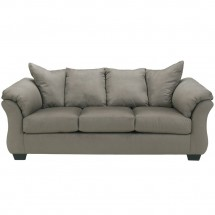 Flash Furniture FSD-1109SO-COB-GG Signature Design by Ashley Darcy Sofa in Cobblestone Fabric