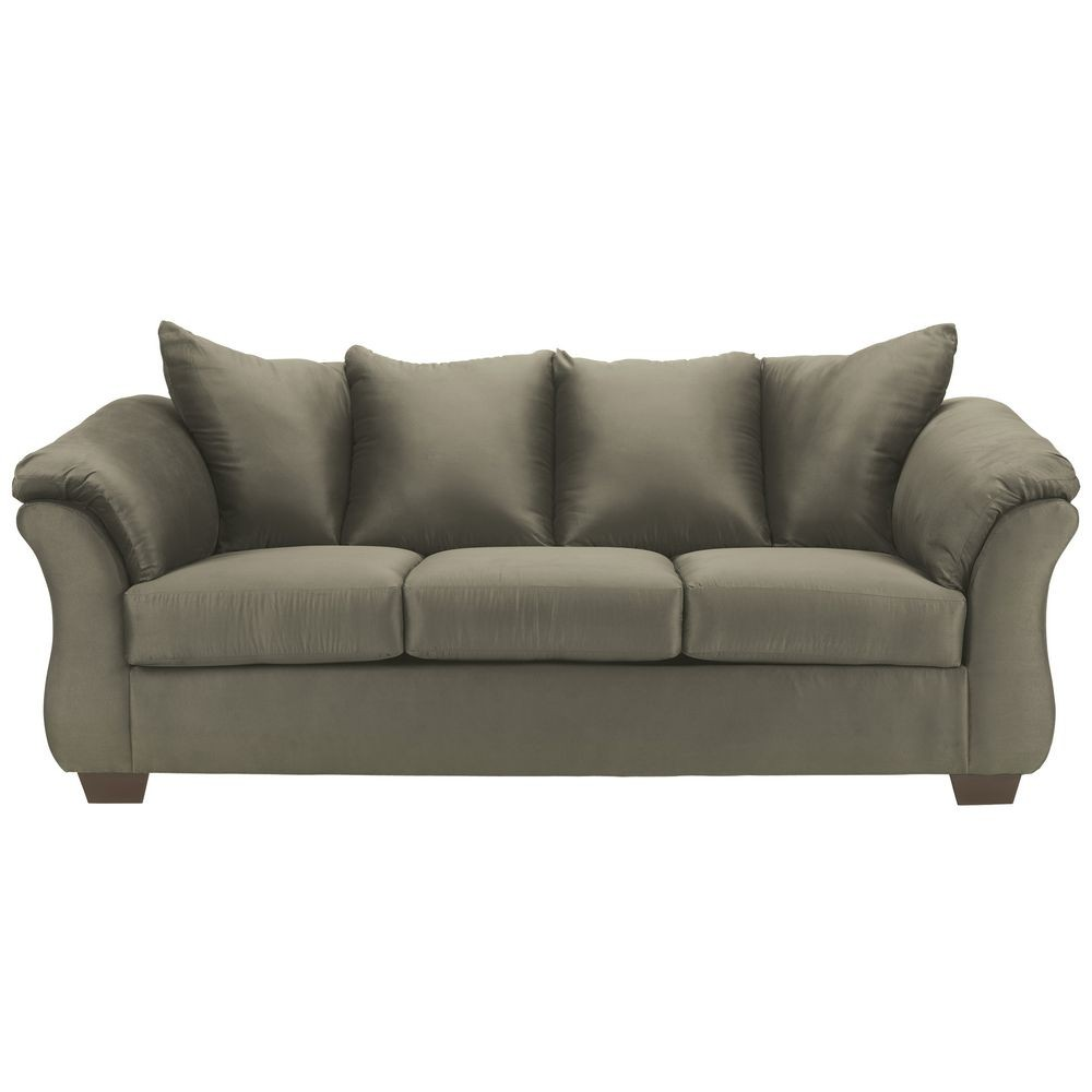 Flash Furniture FSD-1109SO-SAG-GG Signature Design by Ashley Darcy Sofa in Sage Fabric
