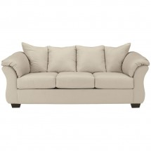 Flash Furniture FSD-1109SO-STO-GG Signature Design by Ashley Darcy Sofa in Stone Fabric