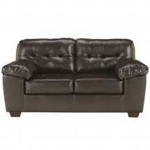 Flash Furniture FSD-2399LS-CHO-GG Signature Design by Ashley Alliston Loveseat in Chocolate DuraBlend