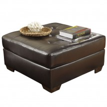 Flash Furniture FSD-2399OTT-CHO-GG Signature Design by Ashley Alliston Oversized Ottoman in Chocolate DuraBlend