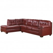 Flash Furniture FSD-2399SEC-RED-GG Signature Design by Ashley Alliston Sectional in Salsa DuraBlend