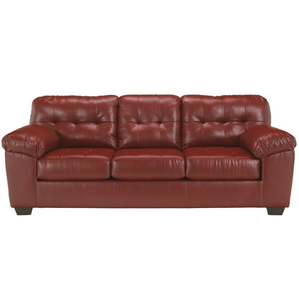 Flash Furniture FSD-2399SOF-RED-GG Signature Design by Ashley Alliston Sofa in Salsa DuraBlend