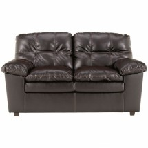 Flash Furniture FSD-2799LS-JAV-GG Signature Design by Ashley Jordon Loveseat in Java DuraBlend