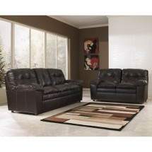Flash Furniture FSD-2799SET-JAV-GG Signature Design by Ashley Jordon Living Room Set in Java DuraBlend
