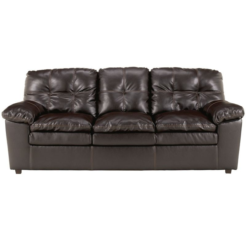 Flash Furniture FSD-2799SO-JAV-GG Signature Design by Ashley Jordon Sofa in Java DuraBlend