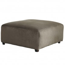 Flash Furniture FSD-6049OTT-DUN-GG Signature Design by Ashley Jessa Place Oversized Ottoman in Dune Fabric