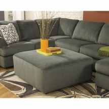Flash Furniture FSD-6049OTT-PEW-GG Signature Design by Ashley Jessa Place Oversized Ottoman in Pewter Fabric