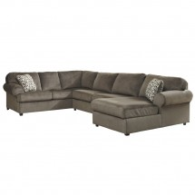 Flash Furniture FSD-6049SEC-DUN-GG Signature Design by Ashley Jessa Place Sectional in Dune Fabric