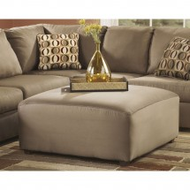 Flash Furniture FSD-8059OTT-MOC-GG Signature Design by Ashley Cowan Oversized Ottoman in Mocha Fabric