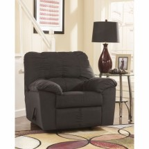 Flash Furniture FSD-8799REC-BLK-GG Signature Design by Ashley Dominator Rocker Recliner in Black Fabric