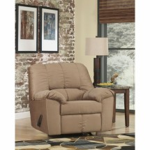 Flash Furniture FSD-8799REC-MOC-GG Signature Design by Ashley Dominator Rocker Recliner in Mocha Fabric