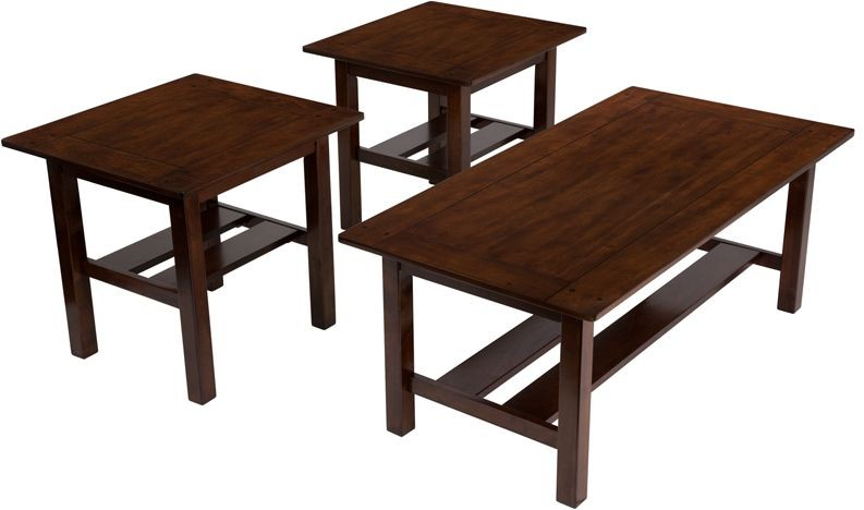 Flash Furniture FSD-TS3-35MB-GG Signature Design by Ashley Lewis, 3 Piece Occasional Table Set