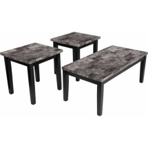Flash Furniture FSD-TS3-43FM-GG Signature Design by Ashley Maysville, 3 Piece Occasional Table Set