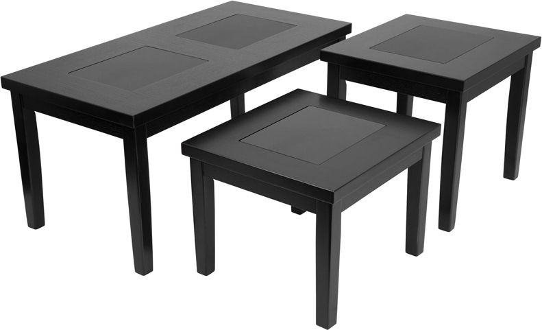 Flash Furniture FSD-TS3-45DB-GG Signature Design by Ashley Denja, 3 Piece Occasional Table Set